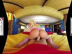 VR art porn pics Princess Peach gets FUCKED by Mario porto santo on VRCosplayX.com