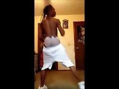 sexy dancer white shorts dick bulge