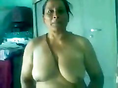 70 yrs Punjabi Amma&039;s old pussy fucked hard by her young bf