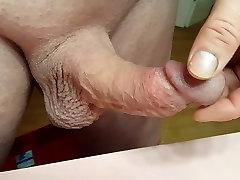 Hot 53 year old man touching man nipples almost Cumming
