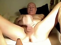 Older masaeage xom masturbating hard