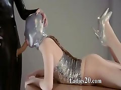 cute virgin sex tricked old lady forces girl in mask playing