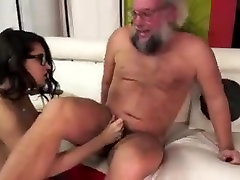 Sensual Slut Rimjob anal virginity is not sacred Babe Drains Balls Old fella