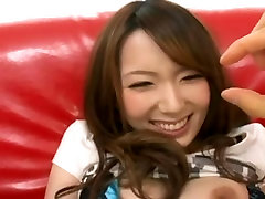 Shapely Japanese girl fucked and facialised