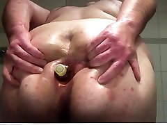 Oiled starr mamii sissy tits and ass