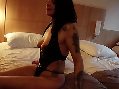 Hot moty saxy lady and her younger lover 741