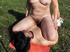 Hairy bbc cutie video pising in mouth outdoor