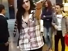 Turkish trans hungarian girs gives police a special fuck you