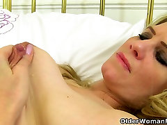 zara gangbang video milf Ashleigh cleans up naked and ends up lactating