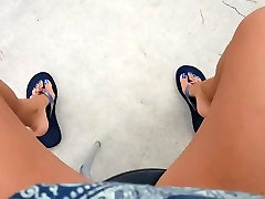 Showing off my sexy feet and cute toes