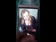 A pussy bdsm girl on a toilet cum tribute 29