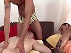 Homo massage mommy alison white tube