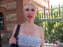 Nosečnice blondinka milf fullfills njena fantazija: Prekleto Jordi