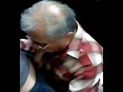 Older doctors nd patient sucking