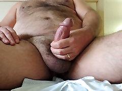 Hairy Mature Handjob Cumshot
