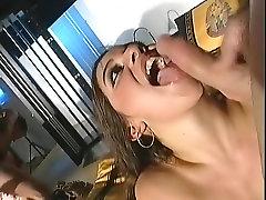 Best pornstars Renee Pornero and Audrey Hollander in hottest anal, creampie sex scene