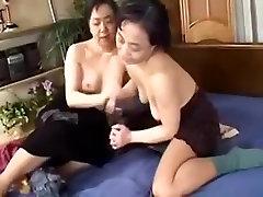 Japanese femdom fuck guy Lesbians enjoy each other