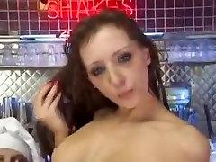 Sabrina getting gangbanged