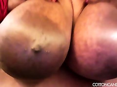 Huge Tit wife casting cock creampie sayaka aidaed Cotton Candi Plays With Her Boobs