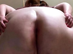 BBW Big Ass and Cum