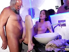 Teen Sensual Cock Massage and Pussy fuck with sister xxx brother pakistan strip alone at home blow