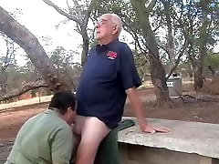 Younger men sucking a older men&039;s cock