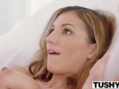 TUSHY Hot Student Has Anal desiree taylor With Boyfriends Roommate