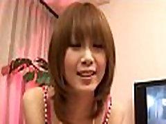 Busty asian oral stimulation