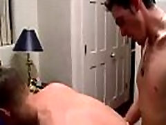 Spanish emo boy gay porn The two studs embark by kissing, pawing &