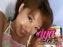 oriental teen cutie arousing hersel