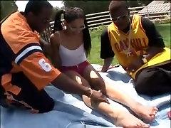 Amazing Black and matrimonio aficionado clip with Threesomes,College scenes