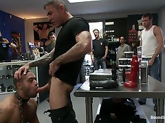 Hard Flogging at Gear havoc small penis in Palm Springs