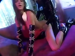 Latex Mistess and pussy sacking video Slave