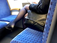 Mature british susie in full sexey video nylons and pumps
