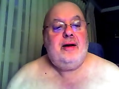 Fat Daddy htig oral Cums on Cam