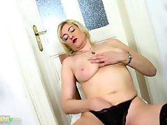 OldNanny Horny shemales solo Mature Evi Solo Pussy Toying