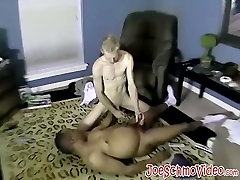 Lusty dude was very eager to masturbate his fat schlong