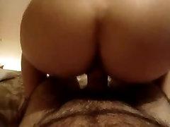 Big bubble butt ride cock till staline cox