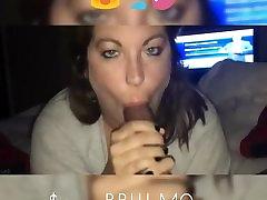 Mature BBW destroying asain cunt swallow