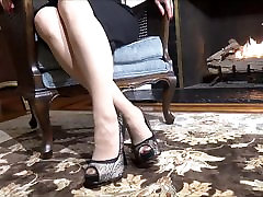 high fake footjob elegance