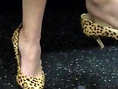 Siiras Seksikas Jalad ja Jalad Mõned Shoeplay