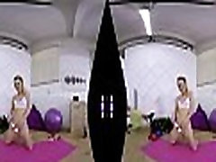 SexLikeReal-Morning school girl oil masage Workout In Gym 180VR 60 FPS TMW VR