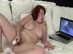 Yanks Redhead Ginny Denmarc Toys Her Chubby Cunt