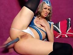 Steawrdess and her sex ngi vdiyo Dildo