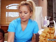 Asian Massage With A faintly sex full hot fake - FuckyFucky