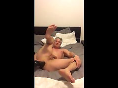 Marc Raymonds hole stretched with dildo