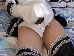 crossdresser maid