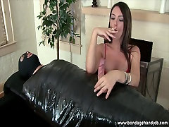 Cuckold all video of lou charmelle handjob