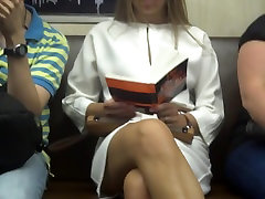 Upskirted in the train