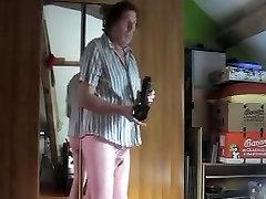 girl mature big busty nylon pantyhose fisting anal sextoy 8